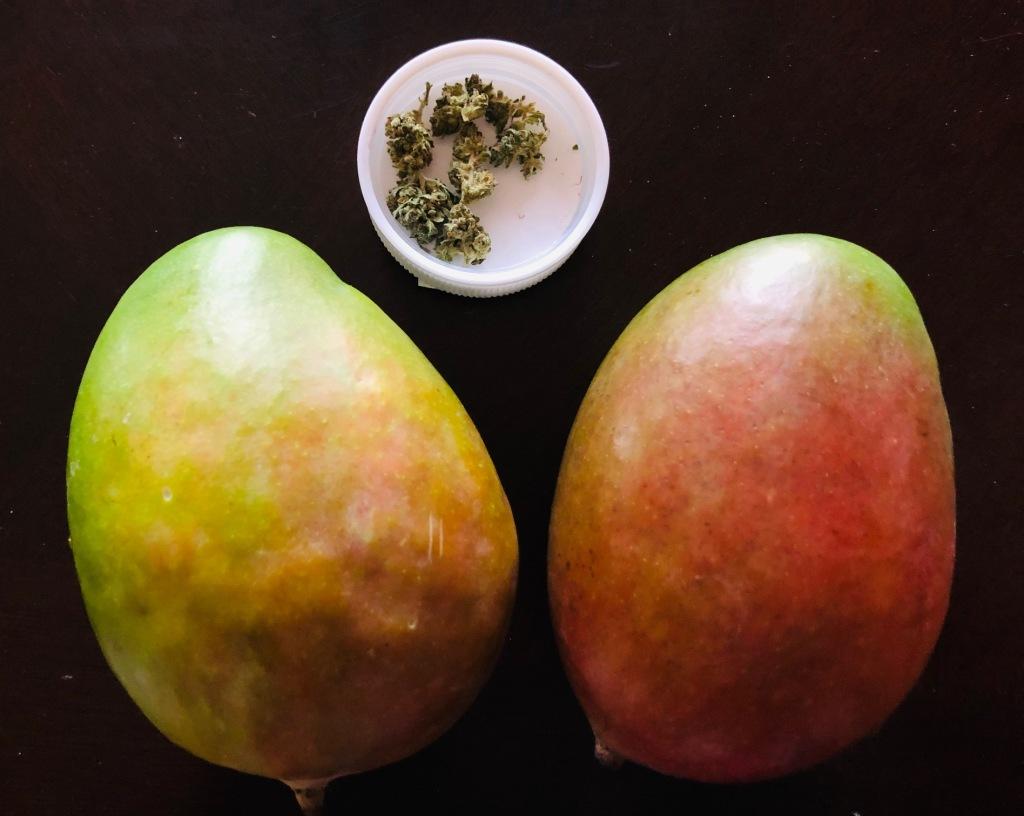 Mango and cannabis